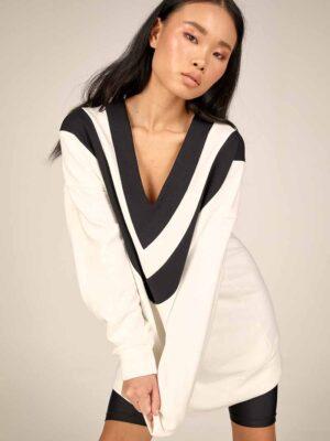 Oversized sweatshirt S21-21627A - Dolce Domenica