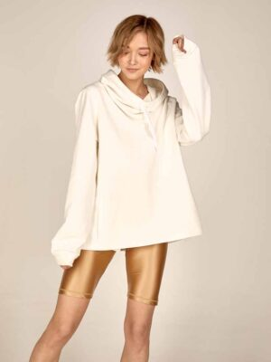 Oversized hoodie S21-21629 - Dolce Domenica