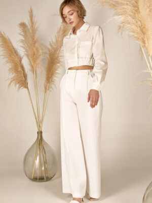 Crop shirt S21-21635 - Dolce Domenica